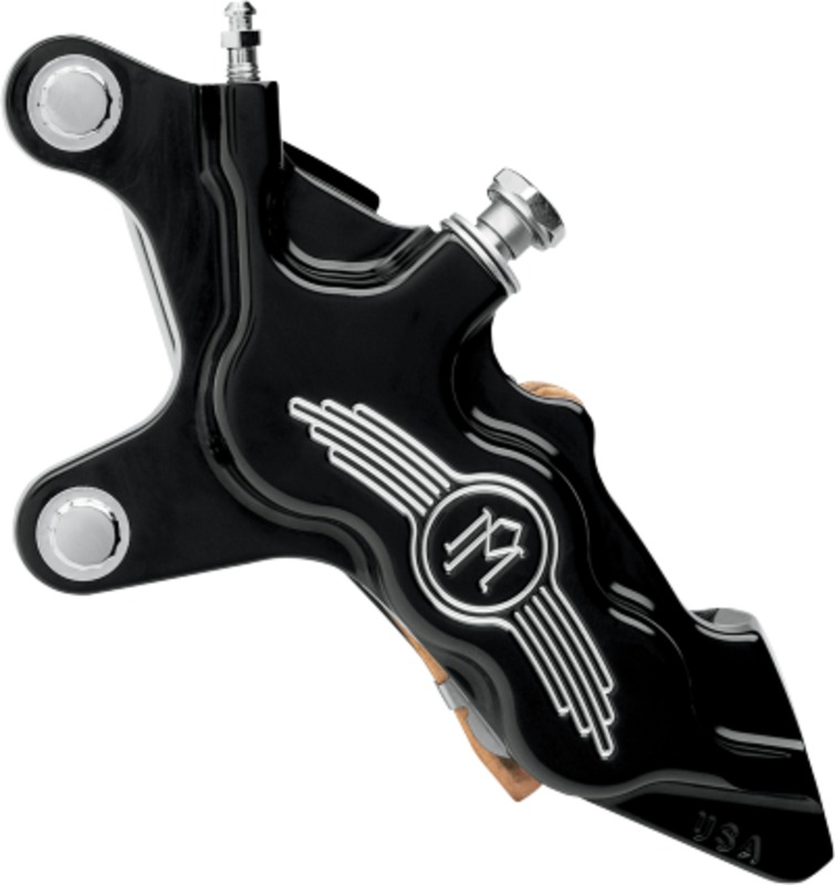 performance machine 6 piston brake pads