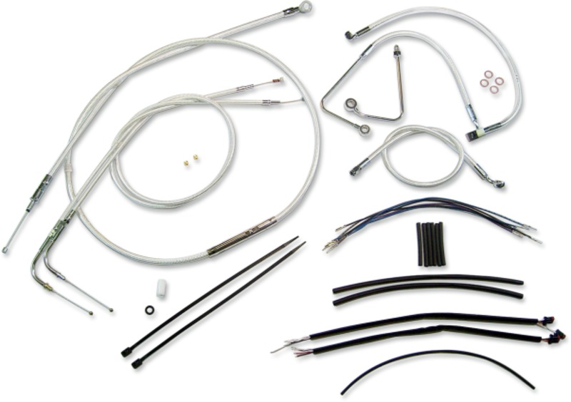 magnum cables and wire extension kits for harley