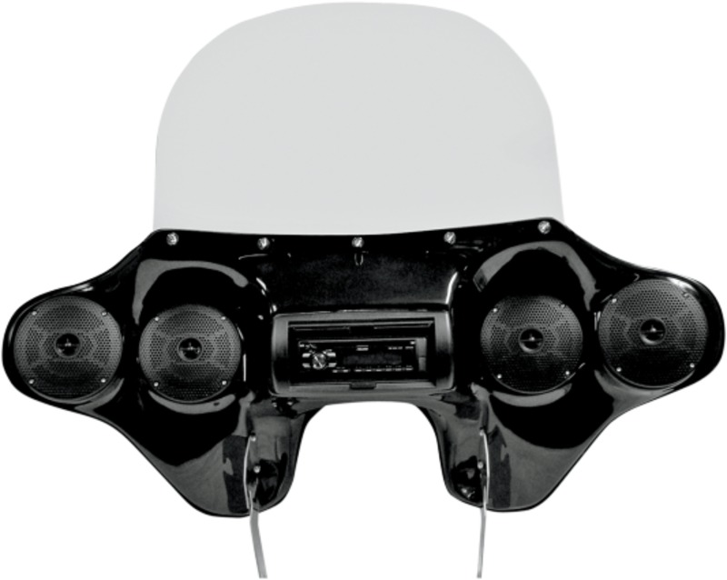 Hoppe Industries Quadzilla Fairing with Sound System